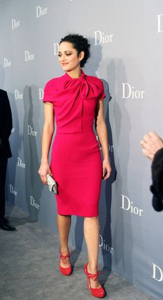 Marion Cotillard in Christian Dior @ 2008 Christian Dior & Chinese Artists Exhibition