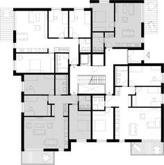 Grundriss Erdgeschoss (Haus A)