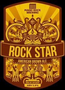 magic rock brewing. rock star.