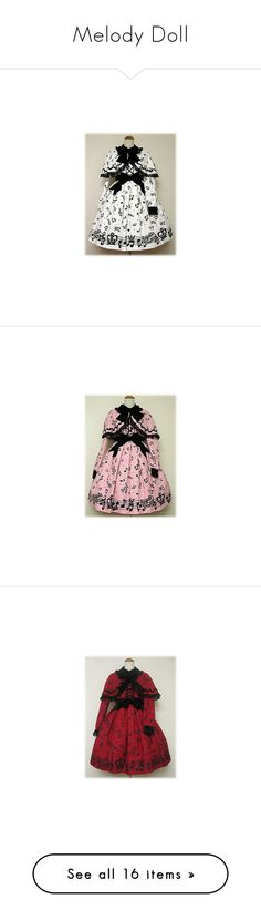 """""""Melody Doll"""" by ghiraham-sandwich ❤ liked on Polyvore featuring angelic pretty, lolita dresses, lolita, melody doll, dresses, op, red, black, jsk and skirts"""
