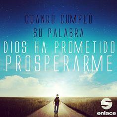 Cuando cumplo su Palabra, Dios ha prometido prosperarme.