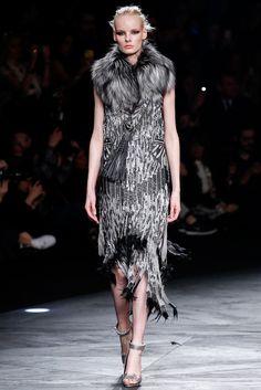 Roberto Cavalli Fall 2014 Ready-to-Wear Fashion Show - Irene Hiemstra