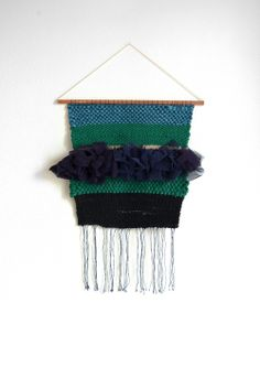 Weaving by Julie Robert #weaving #wallhanging #tissage