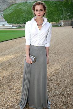 Ladylike Millennial Style Icon: Emma Watson  - TownandCountryMag.com