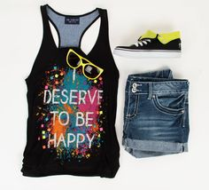 This is a great teenage outfit for summer!