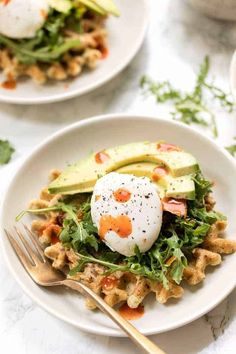Breakfast Waffle Recipes, Zucchini Breakfast, Breakfast Waffles, Savory Breakfast, Pancakes And Waffles, Brunch Recipes, Zucchini Quinoa, Perfect Breakfast, Mexican Breakfast