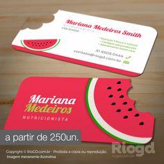 Os mais lindos e criativos modelos de Cartão de Visita com Corte Especial para Nutricionistas. Escolha o modelo e personalizamos com seus dados.