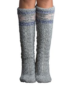 Look what I found on #zulily! Flannel Slubby Snowflake Slipper Socks by Lemon Legwear #zulilyfinds