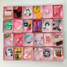 Matchbox advent calendar gifts/fillers. A bit too girly for my sons, but good as inspiration. Nice assortment of teeny gifts and sweets.