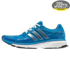 Adidas Energy Boost - my favorite running shoes! They're the most comfortable running shoe.
