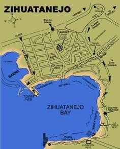 zihuatanejo | Local Information - Ixtapa Zihuatanejo - Orientation, maps