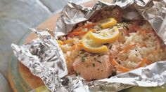 Looking for a classic seafood dinner? Then check out these fish and vegetable packets that are ready in 30 minutes.