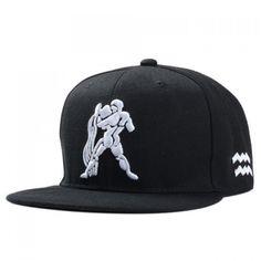 7.34$  Buy here - http://diamq.justgood.pw/go.php?t=171292201 - Stylish Strong Man Embroidery Men's Black Baseball Cap