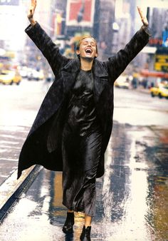 DKNY NYC 1994 CATALOG - PHOTOGRAPH BY PETER LINDBERGH
