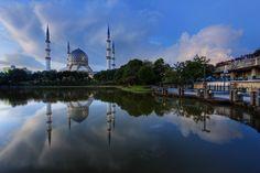 Shah Alam Mosque, in Jakarta, Indonesia