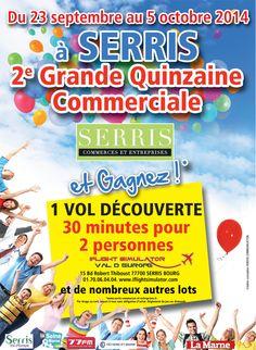 Grande Quinzaine commerciale à Serris, partenariat la-seine-et-marne.com - 2014