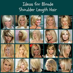 Ideas for blonde shoulder length hair! http://www.facebook.com/photo.php?fbid=502494746473803=a.319543871435559.75102.133025596754055=1
