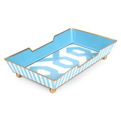 """Madison Blue  Guest Towel Tray Size : 5x9x2"""""""
