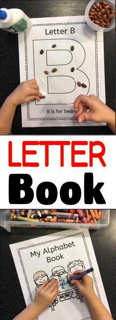 Your preschool or kindergarten students will love creating their very own alphabet book!