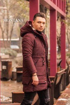 Geaca lunga Bordo Winter Jackets, Fashion, Winter Coats, Moda, Winter Vest Outfits, Fashion Styles, Fashion Illustrations