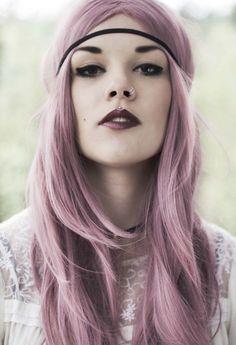 Pastel life:                    ~straight~hair~lilac~wonderful~
