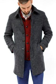 Oliver Spencer Grandpa's Coat (Froswick Grey)