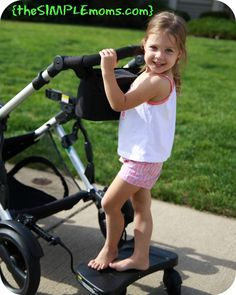 Britax stroller board- this is pretty cool! Might work for when Brayden is a little older!
