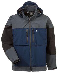 Bass pro shops hpr ii bone dry rain jacket for men bass for Bass fishing rain gear