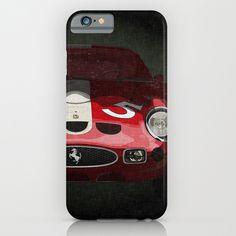 Ferrari 250 GTO iPhone & iPod Case by SEVENTRAPS | Society6