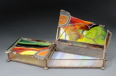 Stained glass box by John Best