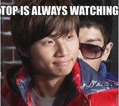 bigbang kpop funny | ... is a humorous captioned picture with superimposed text shinee big bang