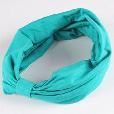 New variety of wear method Cotton Elastic Sports Headbands Wide Headband HB054
