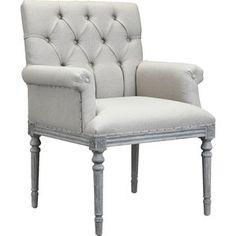 Keegan Tufted Arm Chair