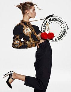 Grace Elizabeth Is Lensed By Alique In 'Rythm'N Fun' For Vogue Paris April 2017 — Anne of Carversville