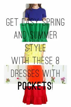 Get Easy Spring and Summer Style with These 8 Dresses with Pockets!