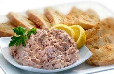 Paté de atún  * Ver también:  http://www.tusrecetasdecocina.com/receta-de-salsa-de-atun.html