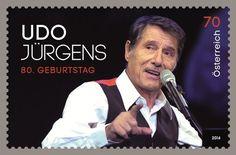 Kommt am 18. Oktober auf den Markt: Udo-Jürgens-Briefmarke Foto: pro
