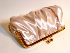 Bridal Clutch or Bridesmaid Clutch Champagne by BelleJouJou