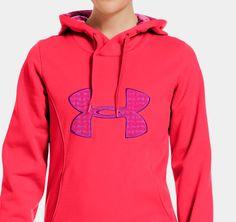 Women's Armour® Fleece Storm Big Logo Hoodie | 1239149 | Under Armour US
