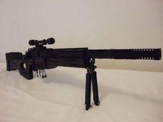 Gun made of legos!