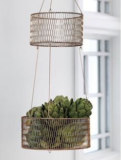 A Copper Update for the Classic Hanging Basket — Faith's Daily Find 11.04.15
