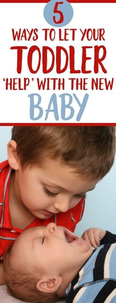 Letting your toddler help with a new baby is a GREAT way to let baby number one adjust to baby number Parenting tips every new mom needs with a baby and toddler! care tips newborns parenting Toddler Behavior, Toddler Discipline, Getting Ready For Baby, Preparing For Baby, Parenting Toddlers, Parenting Hacks, Safety Rules For Kids, Baby Number 2, Toddler Snacks