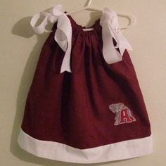 Crimson Tide Dress Need to find out how to make bigger sizes.
