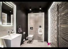 Toaleta - zdjęcie od Pracownia Projektowania Wnętrz Viva Design - Łazienka - Styl Nowoczesny - Pracownia Projektowania Wnętrz Viva Design