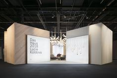 Das Haus – Interiors On Stage 2018 - Picture gallery Exhibition Stall, Exhibition Stand Design, Exhibition Display, Environmental Design, Display Design, Trade Show Booth Design, Stage Design, Retail Design, Id Design