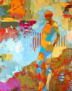 Jylian Gustlin - Kyros - Contemporary Artist - Figurative Painting