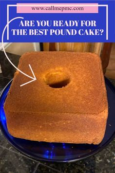 Old Fashioned Blue Ribbon Pound Cake. Tall, buttery, moist, dense. This pound cake is classic and very close to an original pound cake recipe. Huge #cake! #easy #homemade #recipes #oldfashioned #lemon… Sweets Recipes, Easy Desserts, Baking Recipes, Delicious Desserts, Homemade Pound Cake, Pound Cake Recipes, Original Pound Cake Recipe, Old Fashioned Cake Recipe, Huge Cake