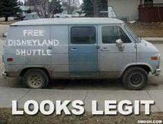 Free Disney land shuttle