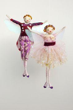 Sugar Plum Fairy and her Prince- Halinka's Fairies