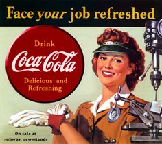 WWII ... Coca-Cola fights on! by x-ray delta one, via Flickr